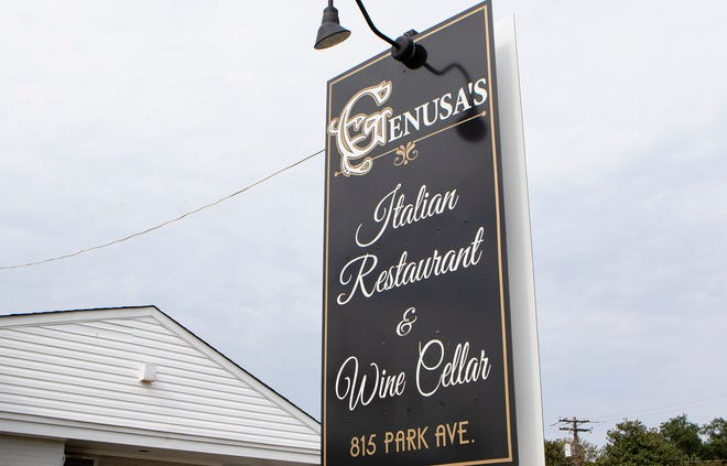 Genusa's Restaurant reopened Tuesday for carry-out only and will offer dine-in later this week.