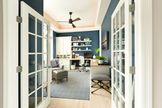 A bonus room can become a wonderful workspace if it is well thought out.