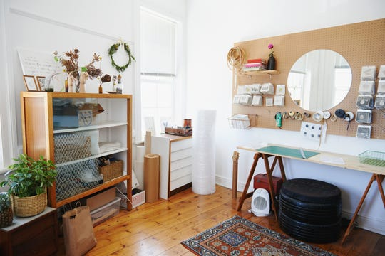 Nothing can be as calmingas a few minutes of doing what you love.  Take the bonus space in your home and make it feel like an intentional area dedicated to your hobby of choice.