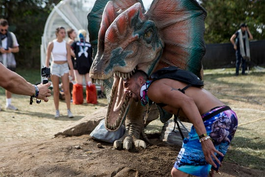 Thousands of people descended on Legend Valley in Thornville for the Lost Lands Festival. The EDM music festival had much to offer patrons from music at two stages, vendors, more than a hundred food options including vegan and gluten free. Yoga classes were offered as well as comedians on stage at 2am after the music ended. The festival implemented many changes this year to address the noise complaints of neighbors.