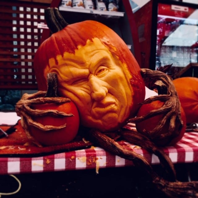 Photos: Pumpkin carvings by Food Network's Lenny Calvin of Halloween Wars