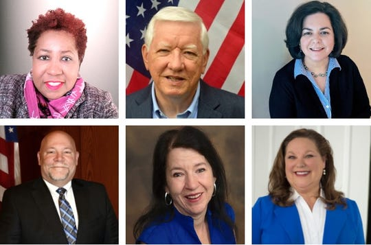 The candidates running for Farmington Hills City Council are Jackie Bolware, TR Carr, Danette Duron-Willner, Ken Massey, Mary Newlin and Theresa Rich.
