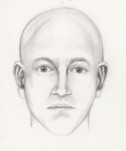 A police sketch of a man Chandler Police are looking seeking. He allegedly approached a fourth grader and grabbed her arm while she was walking to school.