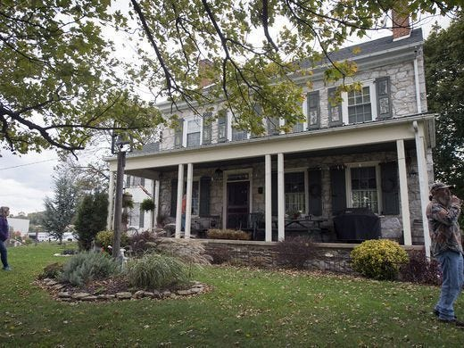 The Mifflin House near Wrightsville, Pa. was an Underground Railroad site, and its acreage served as a Confederate artillery battery site in the Civil War.