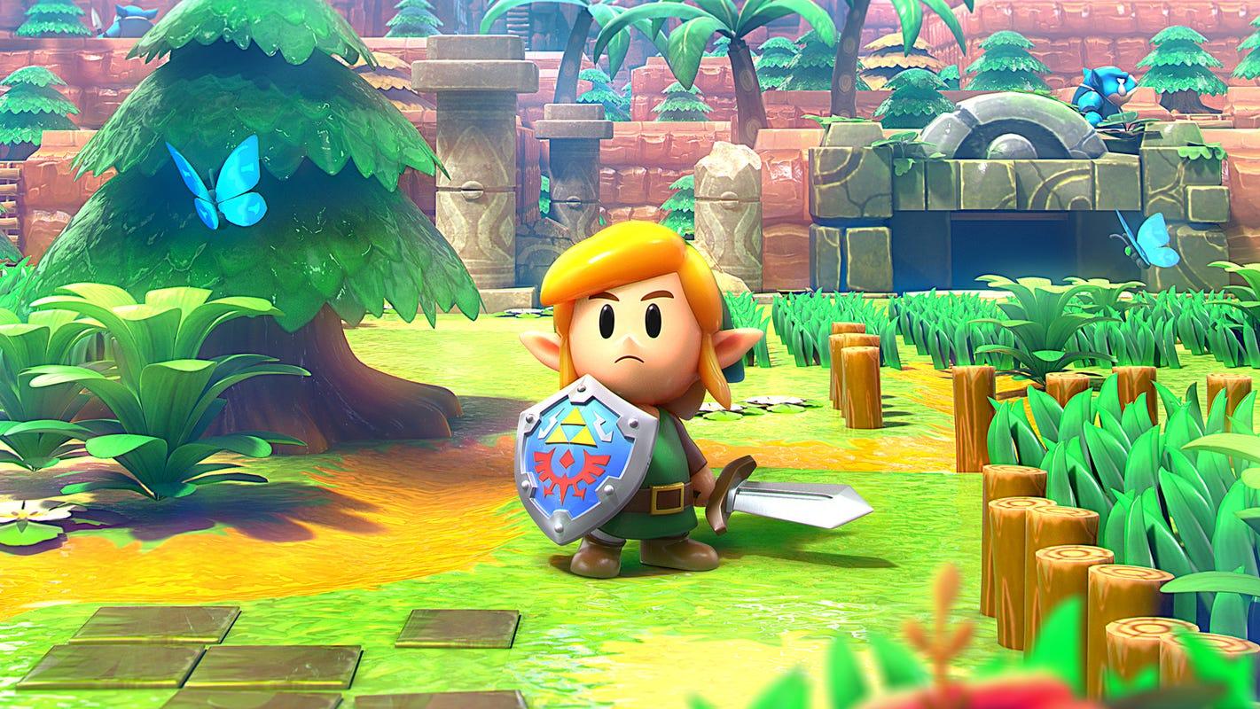 If It Ain T Broke Legend Of Zelda Link S Awakening Review