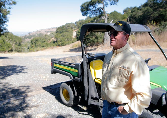 Barry Wilson and his wife have been living at the county's Toro Park for 15 months rent free because they volunteer around the park. More than two-thirds of the spots for volunteers are available.