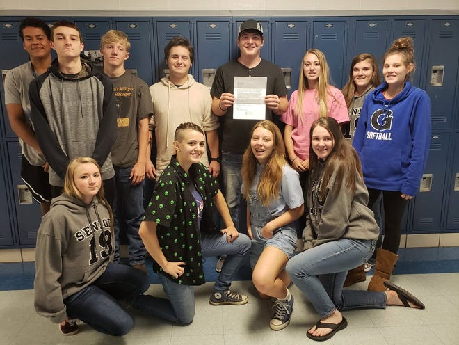 This is Galena High School's Biology of Public Health class. Last year the students in this class decided to sign the whole high school up for Teen Mental Health First Aid Training. That program starts Tuesday.