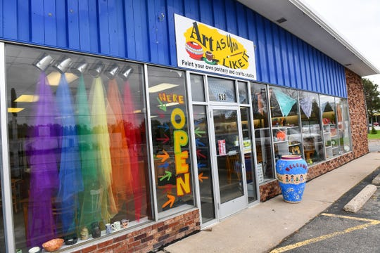 Art As You Like It recently opened in a new location at 630 Lincoln Ave. in St. Cloud.