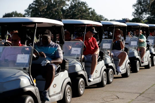 The Big Bend Minority Chamber of Commerce  hosted its annual golf tournament at Southwood Golf Club. Proceeds from this yearÕs event will go to Title I Schools in Leon County.