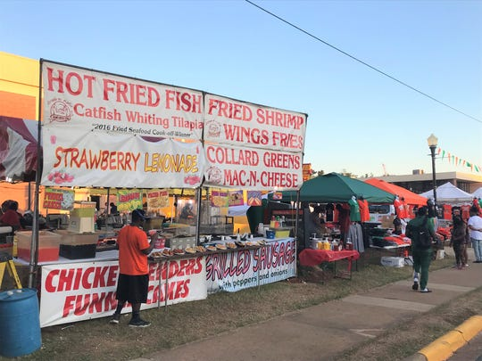 Food vendors for FAMU homecoming are a main attraction for fans throughout the week.