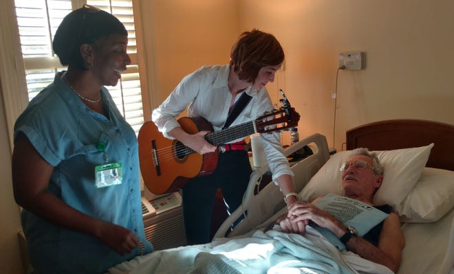 Big Bend Hospice offers musical therapy and spiritual care.