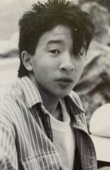 Andrew Yang, who attended Somers public schools from 1980 to 1990, is shown in the Somers High School 1990 yearbook.