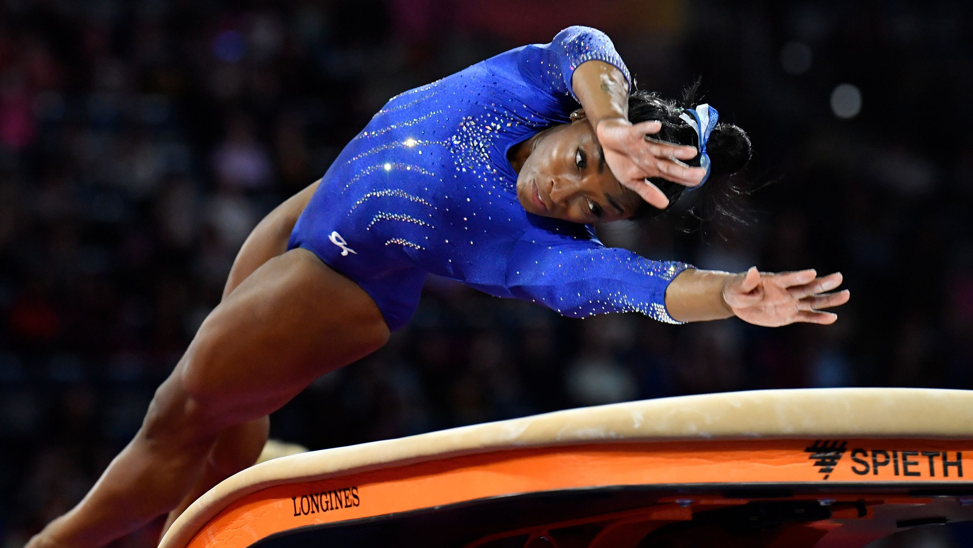 Opinion: Simone Biles penalized for having skills other gymnasts can't pull off