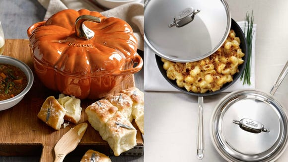 You can get All-Clad, Le Creuset, and Staub for amazing prices this weekend