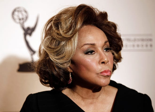 ORG XMIT: CAMW106 Inductee Diahann Carroll arrives at the Academy of Television Arts and Sciences 20th Annual Hall of Fame Induction Gala in Beverly Hills, Calif. on Thursday, Jan. 20, 2011. (AP Photo/Matt Sayles)