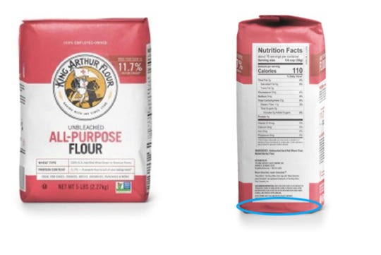 King Arthur Flour, Inc. has expanded a recall of its Unbleached All-Purpose Flour.
