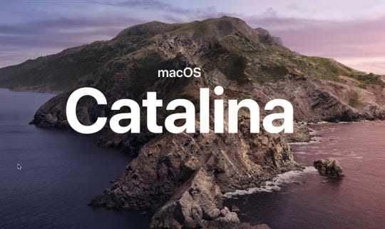 Apple's macOS Catalina software