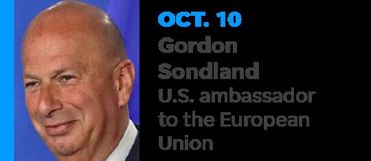 President Trump appointed longtime Republican donor Gordon Sondland U.S. Ambassador to the European Union in 2018.