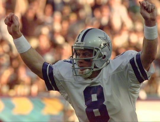 100. Troy Aikman -- QB, Dallas Cowboys (1989-2000)
