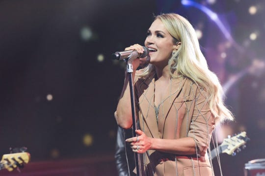 """Carrie Underwood will headline a show Wednesday at the FedExForum as part of her """"Cry Pretty Tour 360."""""""