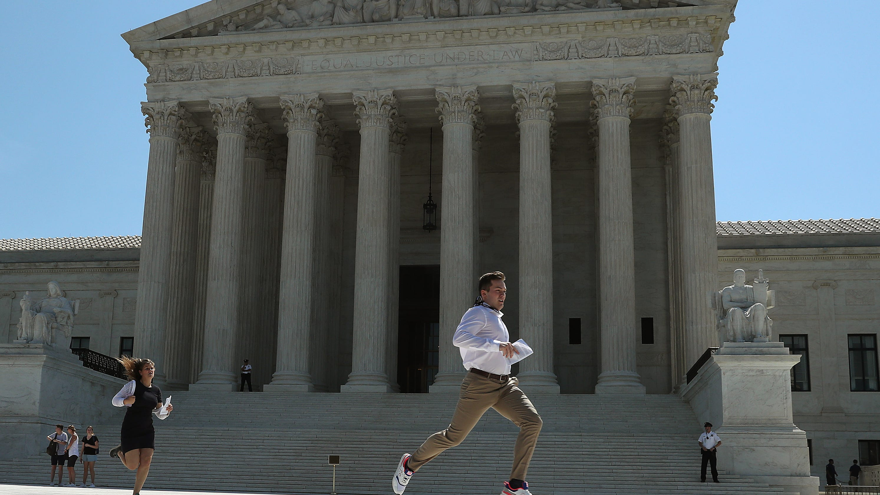 Supreme Court returns to work facing abortion, guns, immigration, gay rights -- and possibly President Trump