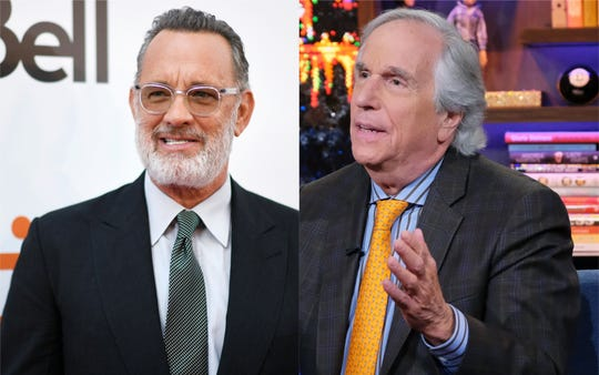 Henry Winkler playfully dodges question about feud with Tom Hanks: 'What did you say?'