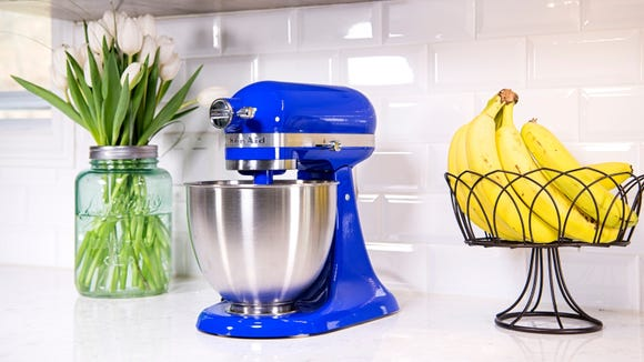 Blending, kneading, whipping...the KitchenAid does it all.