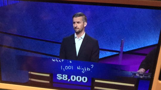 "Binghamton resident Kevin Boettcher correctly answered the Final Jeopardy question on ""Jeopardy"" on Oct. 4, 2019."