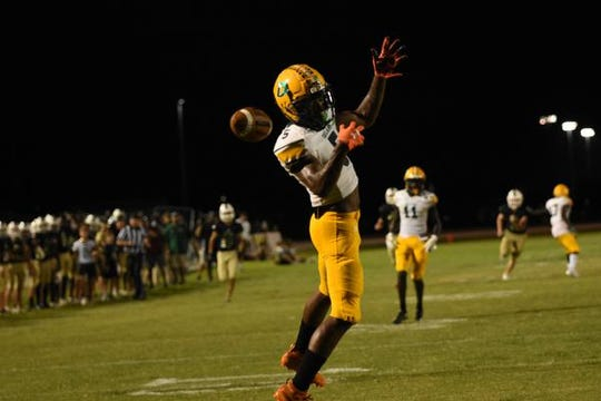 DeLand's Avantae Williams is seen during a game at Viera in October 2019. Williams signed with Miami on National Signing Day.