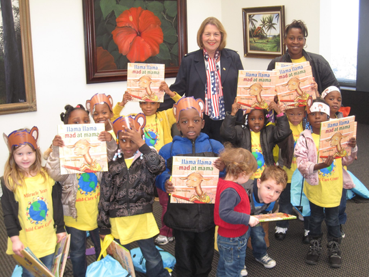 Florida Sen. Dorothy Hukill's passion for education included reading to schoolchildren.