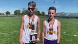 Unioto's Robert Immell and Eric Hacker talk about the new Unioto course, their PRs, and goals for the rest of the season with tournaments approaching.