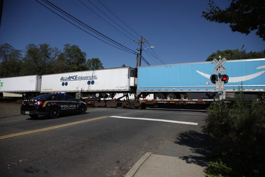 A male was fatally struck by a train this morning near Columbus Park in Piscataway.