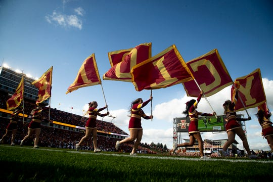 Iowa State's 2020 football schedule includes a Thursday night home game.
