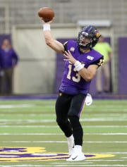 Panthers quarterback Will McElvain spread the ball around with ease Saturday against Youngstown State.