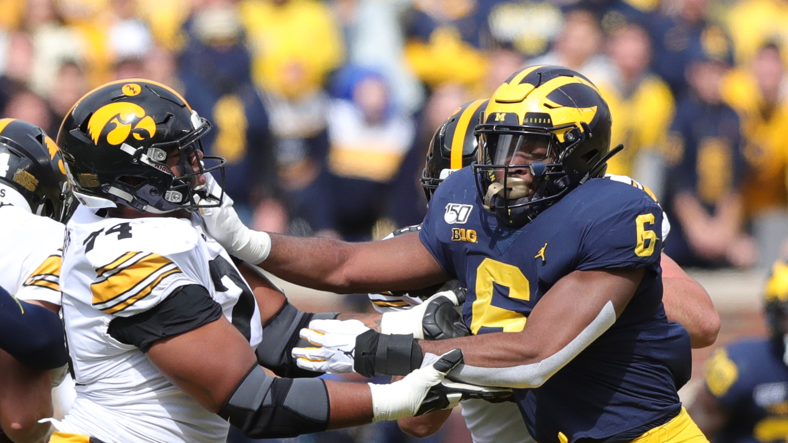 Michigan Football Linebacker Josh Uche Diversifies, Adds Value