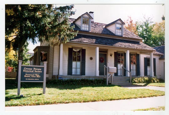 The Provencal-Weir House in Grosse Pointe Farms is a stop on the Legends of the Fall Storytelling Event.