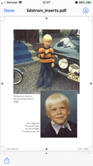 Pictures from Nicklas Lidstrom's book