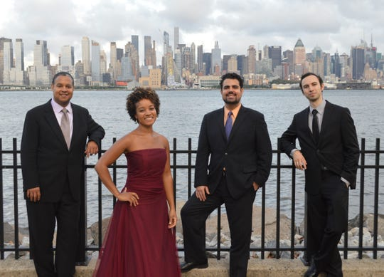 The Harlem Quartet will perform at Wayne State on Friday and at the Seligman Center on Saturday.