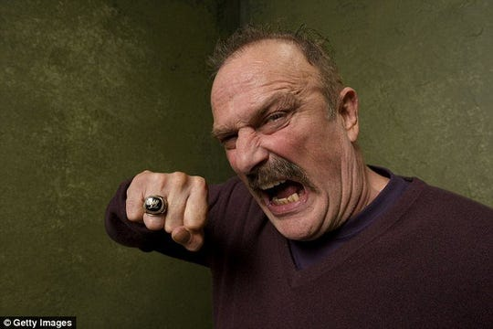 Jake (the Snake) Roberts is sharing stories from the road on his Dirty Details Tour.