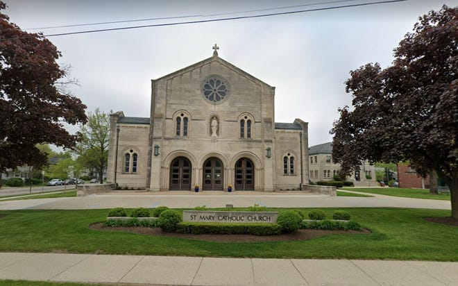 St. Mary's Catholic Church at 730 S. Lafayette in Royal Oak.