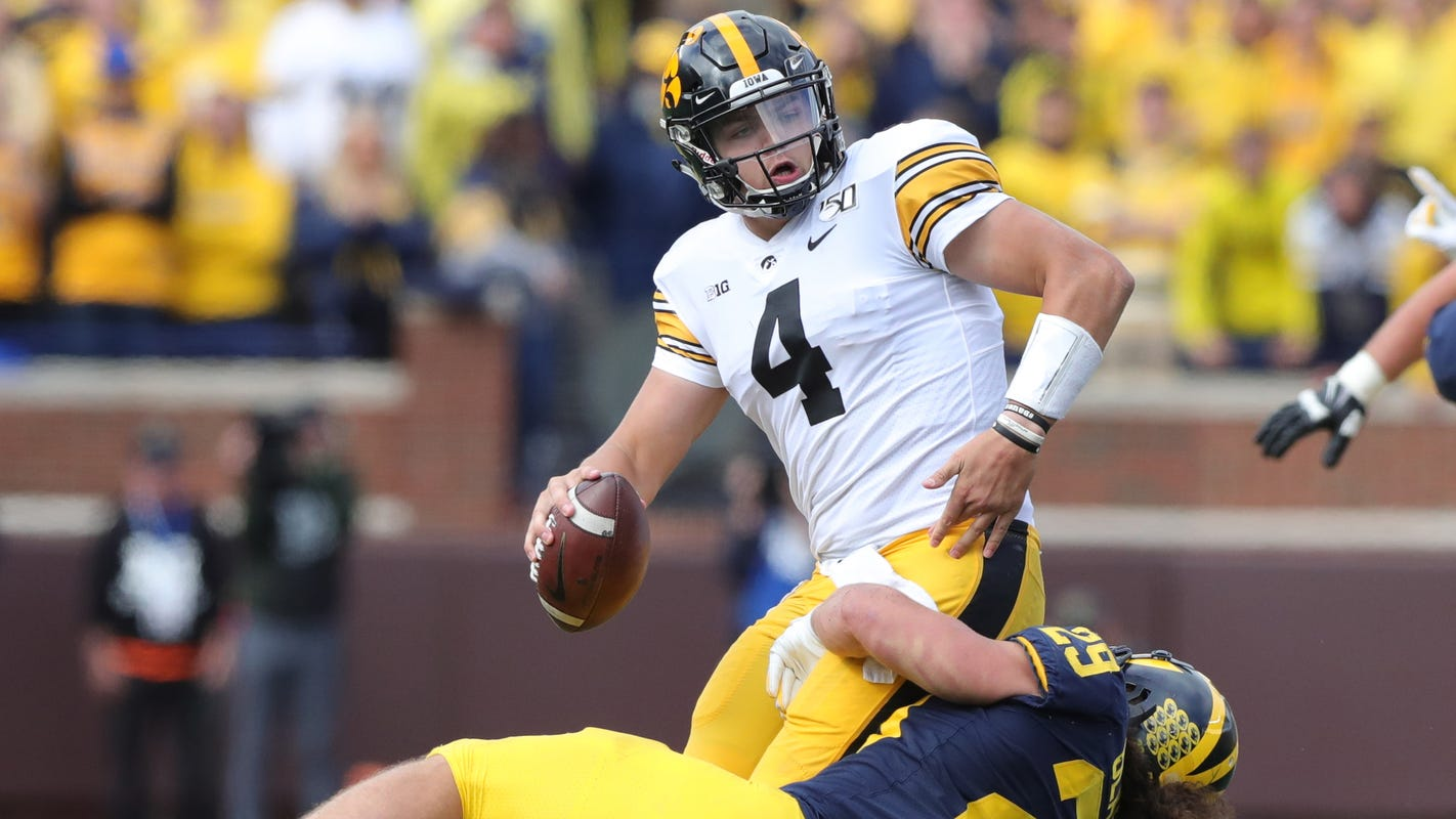 Iowa Offense Loses Swagger In Humbling 60 Minutes At Michigan