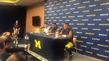 """Michigan quarterback Shea Patterson said the Wolverines left a lot of points """"out there"""" against Iowa."""