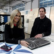 "Christina Anstead and Tarek El Moussa of ""Flip or Flop."""