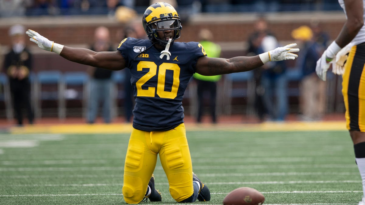 Michigan safety Brad Hawkins says he's returning for 2021 season 1