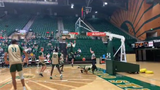 The Colorado State men's basketball team participated in an open scrimmage Saturday, Oct. 5. Many new players impressed in the scrimmage.