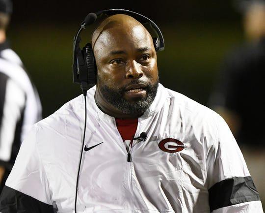 Greenville head coach Greg Porter.