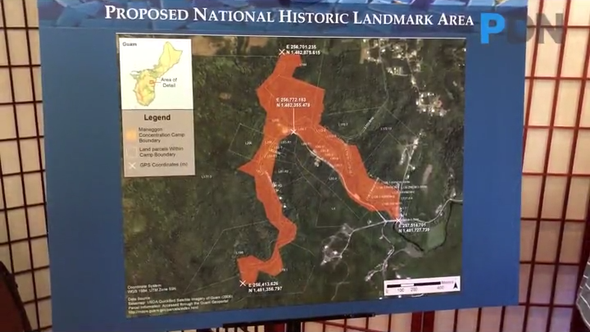 A meeting was held, between the Guam Preservation Trust and a group of Manengon landowners and other stakeholders, to discuss the WWII former concentration camp being nominated as a National Historic Landmark.