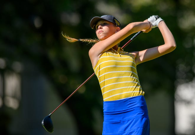 Carmel senior Katie Kuc figures to be in the mix for an individual IHSAA state title.