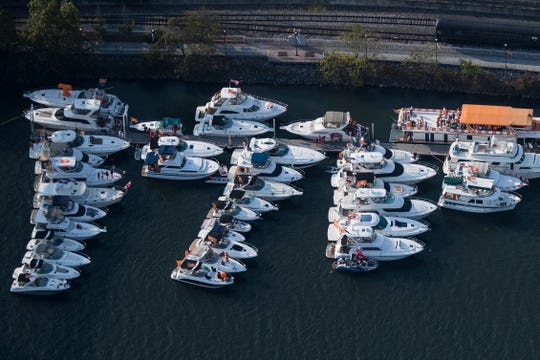The Vol Navy before the Tennessee vs. Georgia game, Saturday, Oct. 5, 2019.