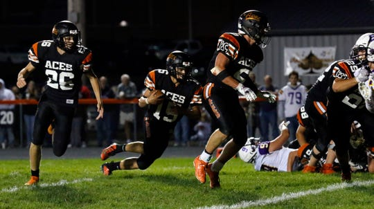 Over the last 10 years, Amanda-Clearcreek has the most wins in the area with 57, and the Aces, along with Bloom-Carroll has the most playoff appearances  of any team in the area during the last decade with five each.